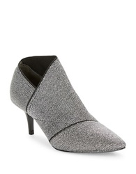 Adrianna Papell Heather Asymmetrical Booties Grey