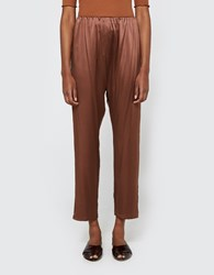 Baserange Azour Highwaist Pants Dark Brown