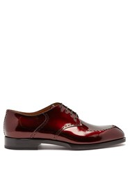 Christian Louboutin A Mon Homme Patent Leather Brogues Red