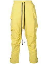 The Viridi Anne Tapered Sweatpants Yellow