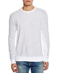 Velvet Stripe Crewneck Tee Bloomingdale's Exclusive