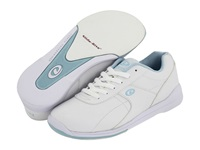 Dexter Raquel Iii White W Light Blue Trim Women's Bowling Shoes
