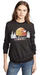 Sol Angeles Sundrop Eagle Pullover Very Black