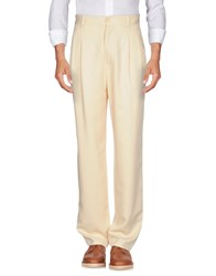 Versus By Versace Casual Pants Ivory