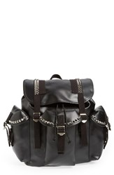 Junya Watanabe Studded Faux Leather Backpack