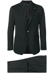 Gabriele Pasini Single Breasted Suit Black