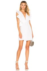 Donna Mizani Maya Mini Dress White