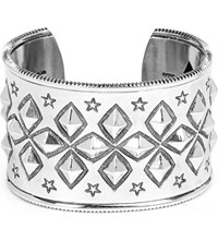 Cody Sanderson Diamond Sterling Silver Cuff