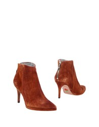 Free Lance Ankle Boots Rust