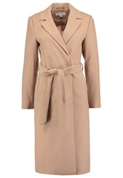 Miss Selfridge Classic Coat Taupe Beige Camel