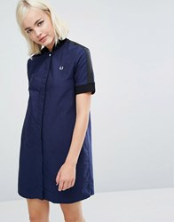 Fred Perry Bomber Dress Blue
