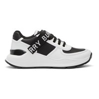 Burberry Black And White Ronnie M Sneakers