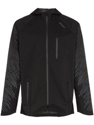 2Xu Heat Hooded Jacket Black