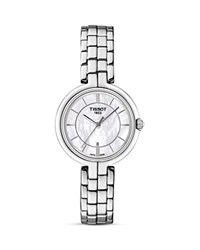 Tissot Flamingo Women's Quartz Watch With Mother Of Pearl Dial 26Mm White