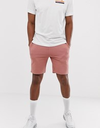 New Look Jersey Shorts In Pink