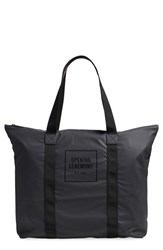 Men's Rains 'Oc Exclusive' Waterproof Tote Black