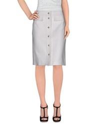 Emilio Pucci Skirts Knee Length Skirts Women White