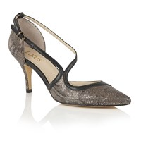 Lotus Hanako Animal Print Courts Bronze