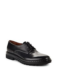 Givenchy Lace Up Leather Oxford Black