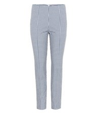 Veronica Beard Cropped Trousers Blue