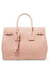 Saint Laurent Sac De Jour Small Textured Leather Tote Blush
