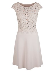 Marc Cain Lace Bodice Dress Shell