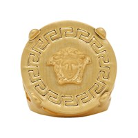 Versace Gold Greek Medusa Ring