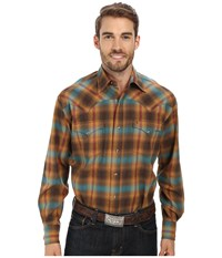 Stetson 9433 Plaid Brown Men's Clothing