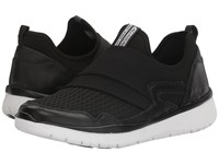 Allrounder By Mephisto Lacapa Black Leather Knit Mesh Women's Shoes