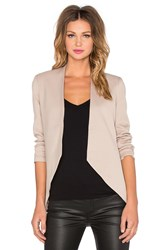 Blaque Label Sculpted Blazer Tan
