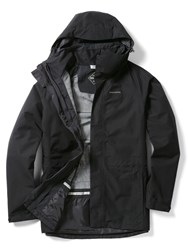 Craghoppers Ashton Long Gore Tex Jacket Black