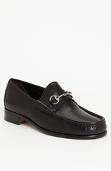Gucci Classic Leather Moccasin Black