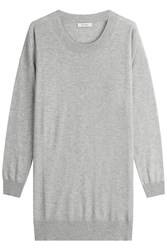 Max Mara Sweater With Silk And Cashmere Grey