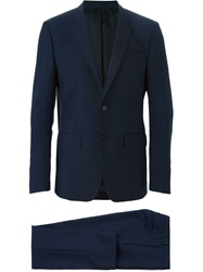 Givenchy Classic Formal Suit Blue