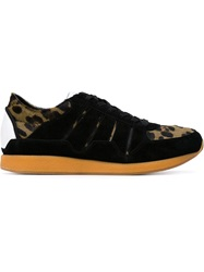 Dolce And Gabbana Leopard Print Sneakers Green