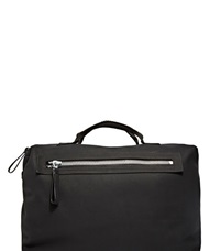 Lanvin Gained Leather Bowling Bag Black