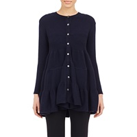 Co Tiered Trapeze Cardigan Navy