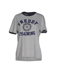 Freddy Topwear T Shirts Women Grey