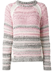 Lala Berlin 'Lieke' Sweater Pink And Purple