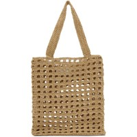 Lauren Manoogian Brown New Net Tote