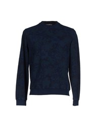 Rossopuro Topwear Sweatshirts Men Blue