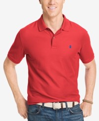 Izod Performance Advantage Pique Polo Cardinal