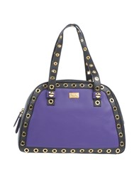 Boutique Moschino Handbags Purple
