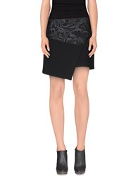 Malloni Skirts Mini Skirts Women Black