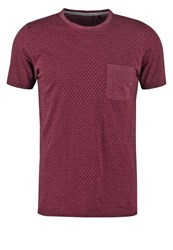 Teddy Smith Tilman Basic Tshirt Dark Wine Bordeaux