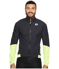 Pearl Izumi Elite Pursuit Wxb Jacket Black Screaming Yellow Men's Coat
