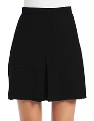 French Connection Marie Knit Mini Skirt Black