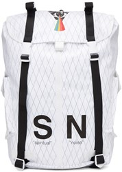 Undercover White Silent Noise Backpack
