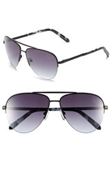 Men's Original Penguin 'The Charley' 59Mm Sunglasses Matte Black Gradient Smoke