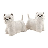 Quail Ceramics Westie Salt And Pepper Shakers